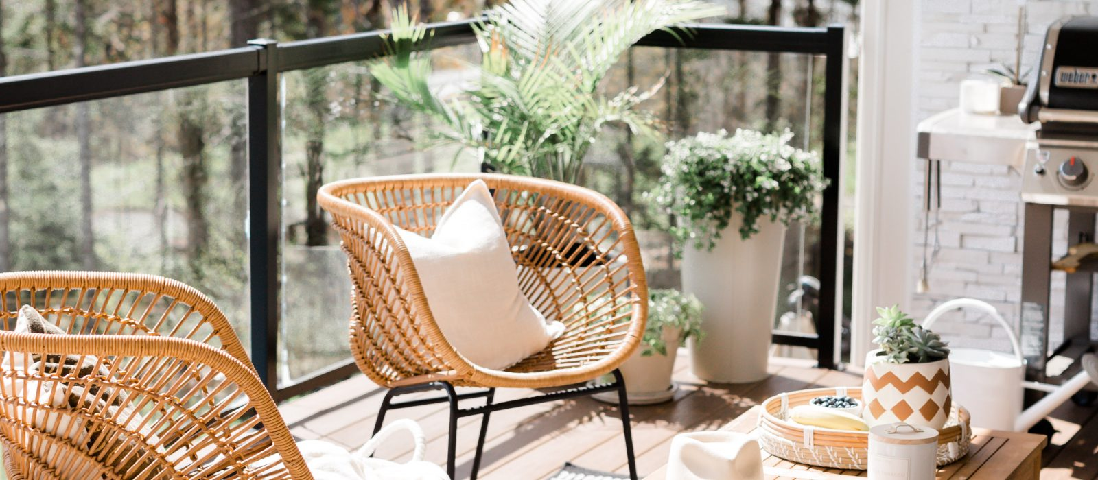 Turn Your Patio into a Staycation Worthy Spot
