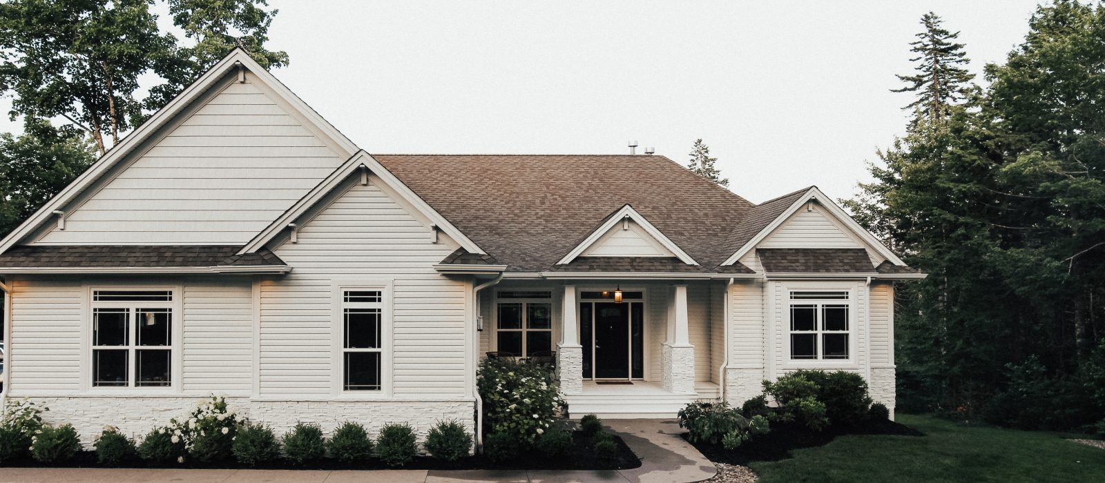 Curb Appeal Exterior Makeover with Spray Net Before + After