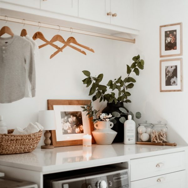 Our Laundry Room with Swash Laundry Detergent