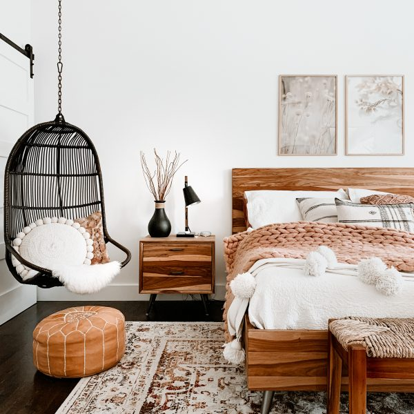 Our Simple + Serene Master Bedroom Refresh